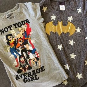 DC Superhero Girl Shirts